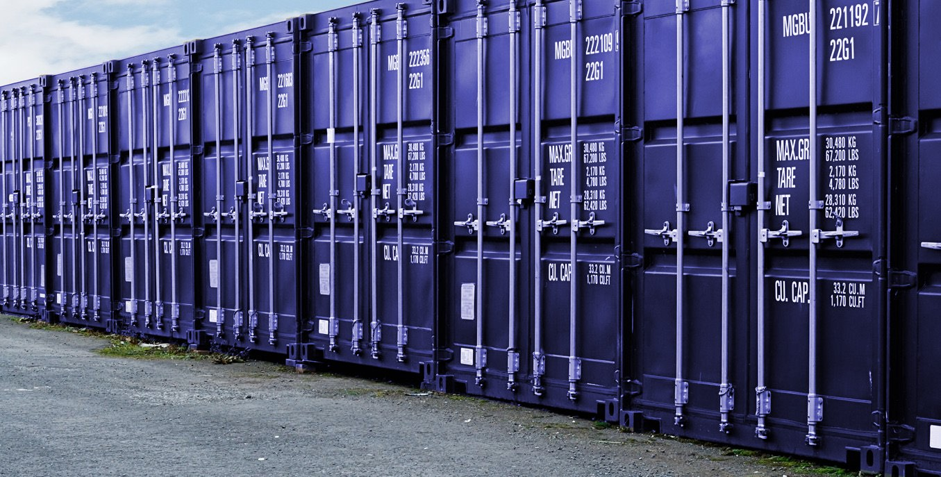 Ongar Self Storage Containers